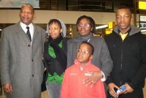 Victoire Ingabire and her family