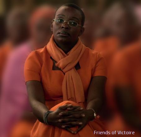 Victoire Ingabire in Uniform