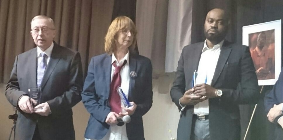 Fred W Holt, a refugee rights defender and a member of Friends of Victoire was awarded, together with Anneke Verbraeken and Patrick Mbeko, the Victoire Ingabire Umuhoza Prize for Democracy and Peace, 2016 on 12 March 2016 in Brussels, Belgium